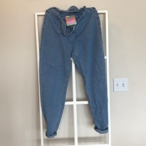 Missguided high rise Mom jeans size 8 nwt